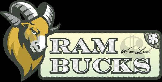 CSU Ram Bucks logo